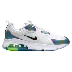 Nike Air Max 200 20 Mens Casual Shoes White/Black US 6, White/Black, rebel_hi-res