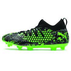 Puma Future 19.3 Netfit Mens Football Boots Black / Grey US Mens 7 / Womens 8.5, Black / Grey, rebel_hi-res