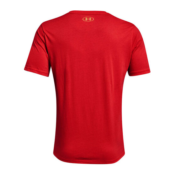 Under Armour Mens Project Rock Chinese New Year Tee, Red, rebel_hi-res