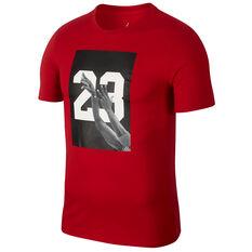 Nike Mens Jordan HO 4 Basketball Top Red S, Red, rebel_hi-res