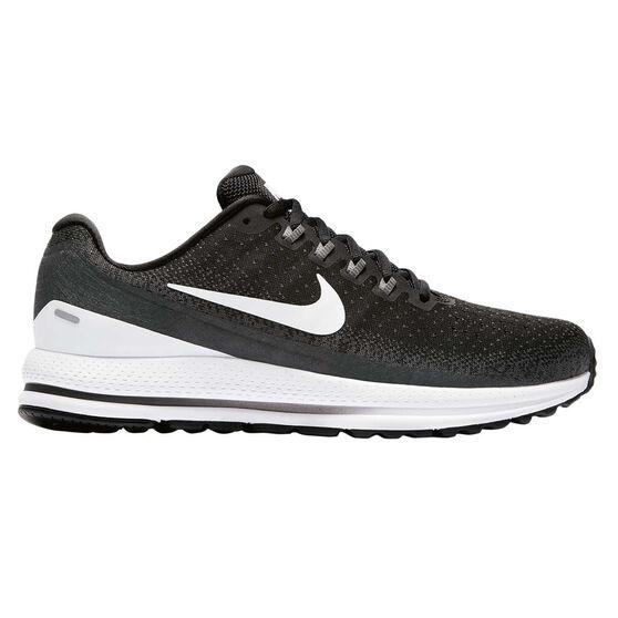 Nike Air Zoom Vomero 13 Mens Running Shoes Black / White US 8, Black / White, rebel_hi-res