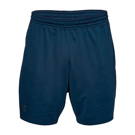 Under Armour Mens Mode Kit 1 Training Shorts, Navy, rebel_hi-res