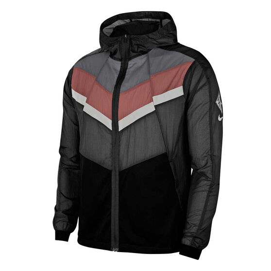 Nike Mens Windrunner Wild Run Running Jacket, Black, rebel_hi-res