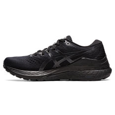 Asics GEL Kayano 28 Mens Running Shoes Black/Grey US 7, Black/Grey, rebel_hi-res