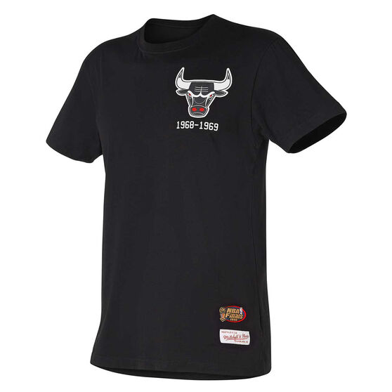 Chicago Bulls Mens Retro Repeat Tee, , rebel_hi-res
