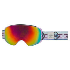 Rojo Womens Retro Ski Goggles, , rebel_hi-res