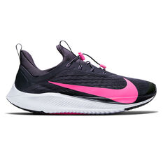 Nike Future Speed 2 Kids Running Shoes Black / Pink US 1, , rebel_hi-res