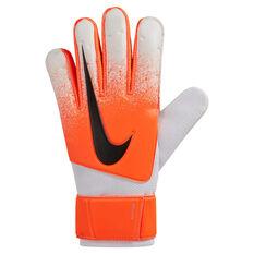 Nike GK Match Goalkeeper Gloves Orange / White 8, Orange / White, rebel_hi-res