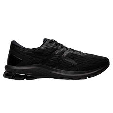 Asics GT 1000 9 4E Mens Running Shoes Black US 8, Black, rebel_hi-res