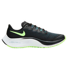 Nike Air Zoom Pegasus 37 Kids Running Shoes Blue / Green US 1, Blue / Green, rebel_hi-res