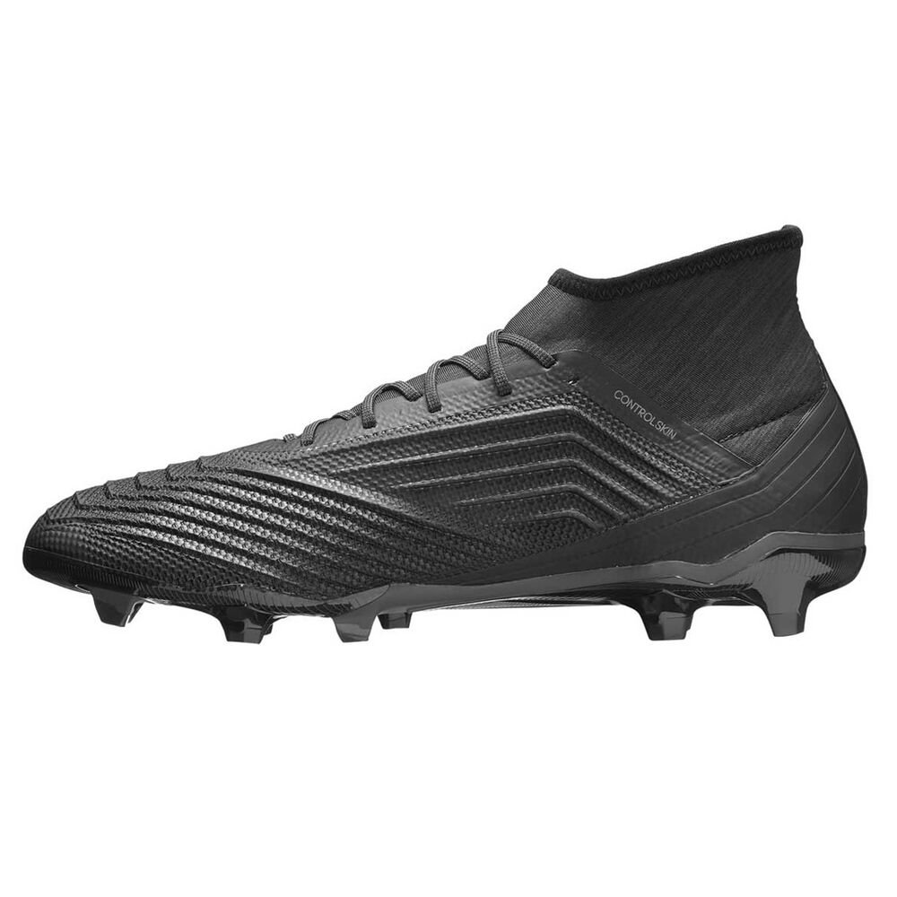 02f4d6e6bf6c adidas Predator 18.2 Mens Football Boots Black US 12 Adult