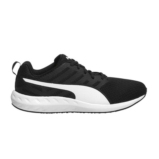 Puma Flare Mesh Mens Running Shoes Black   White US 10.5  c16bdc779