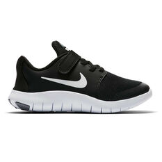Nike Flex Contact 2 Kids Running Shoes Black / White 11, Black / White, rebel_hi-res