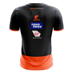GWS Giants 2020 Mens Training Tee Grey S, Grey, rebel_hi-res