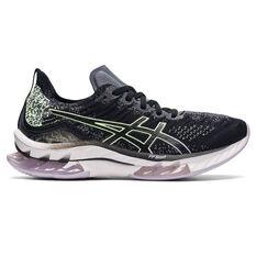 Asics Kinsei Blast Womens Running Shoes Black/Yellow US 7.5, Black/Yellow, rebel_hi-res