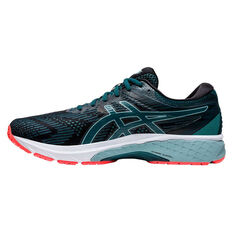 Asics GT 2000 8 Mens Running Shoes Black/Blue US 7, Black/Blue, rebel_hi-res