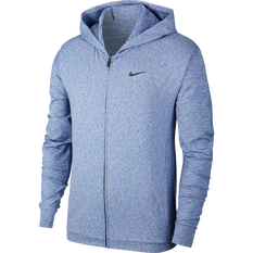 Nike Mens Dri-FIT HPR Training Hoodie Blue / Black S, Blue / Black, rebel_hi-res