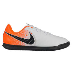 d3bc3618d Nike Tiempo Legend VII Club Kids Indoor Soccer Shoes White   Black US 10