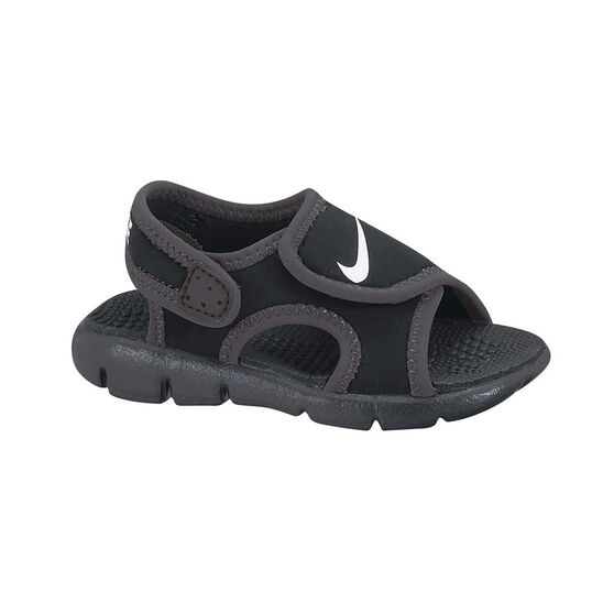 1a85cc14e Nike Sunray Adjust 4 Toddlers Sandals Black   White US 3