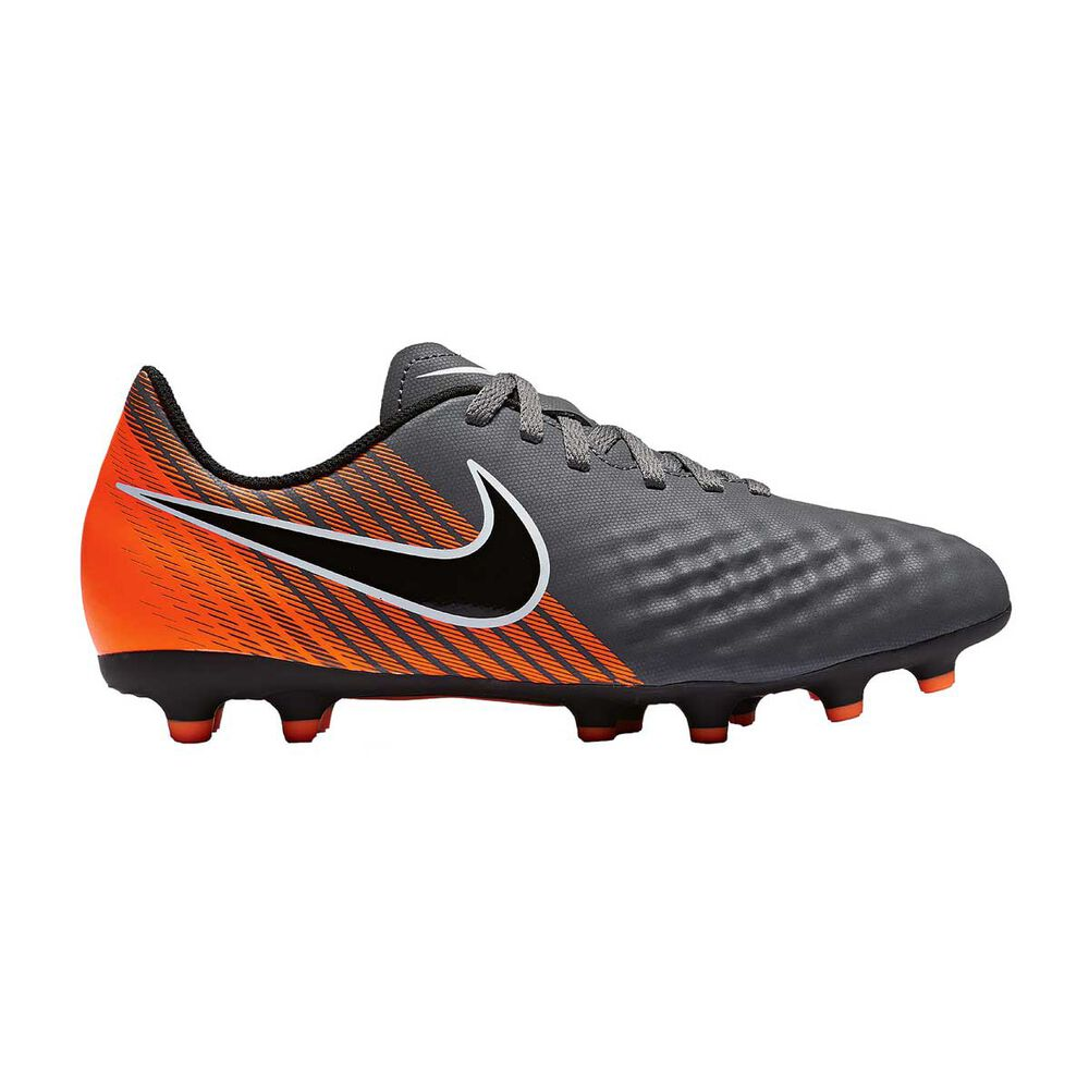 cae7a2a62c22 Nike Magista Obra II Club FG Junior Football Boots Black   Orange US 1  Junior