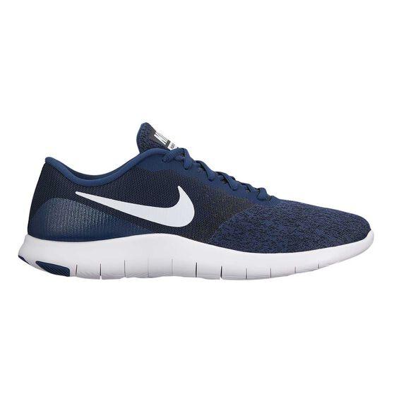 76b088c1ad43e Nike Flex Contact Mens Running Shoes Navy   White US 11.5