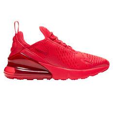 Nike Air Max 270 Kids Casual Shoes Red/Black US 4, Red/Black, rebel_hi-res
