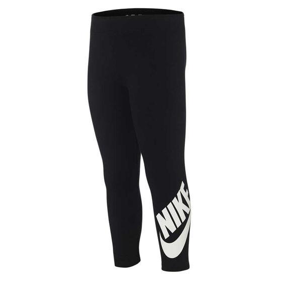 Nike Girls Sportswear Leg A See Tights, Black, rebel_hi-res