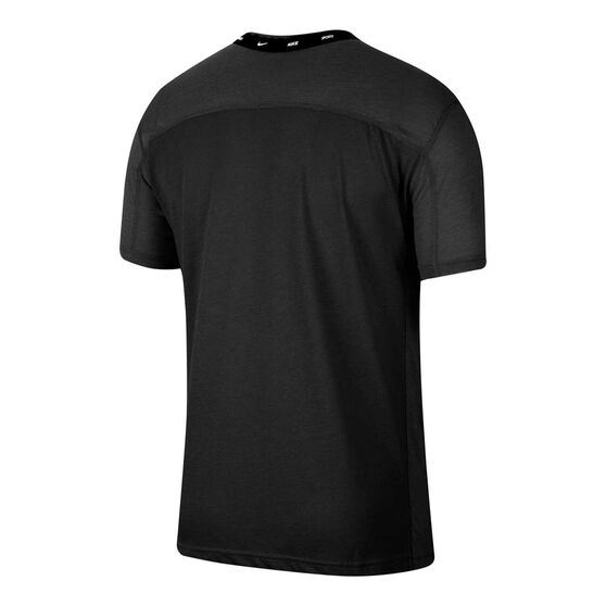Nike Mens Training Tee, Black, rebel_hi-res