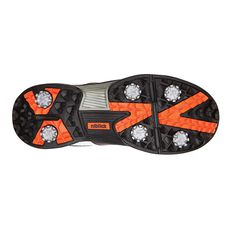 Niblick Portsea Mens Golf Shoes White / Black US 7, White / Black, rebel_hi-res