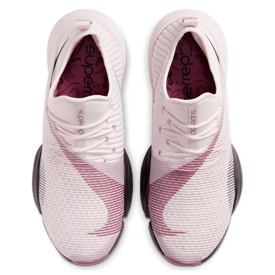 Nike Air Zoom SuperRep Womens Training Shoes, Pink / Maroon, rebel_hi-res