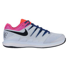 Nike Air Zoom Vapor X Hardcourt Mens Tennis Shoes Blue / Black US 7, Blue / Black, rebel_hi-res