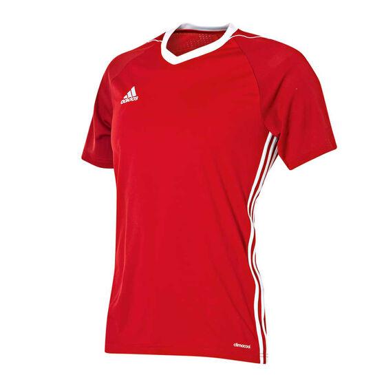 adidas Mens TIRO17 Jersey Red / white XL, Red / white, rebel_hi-res