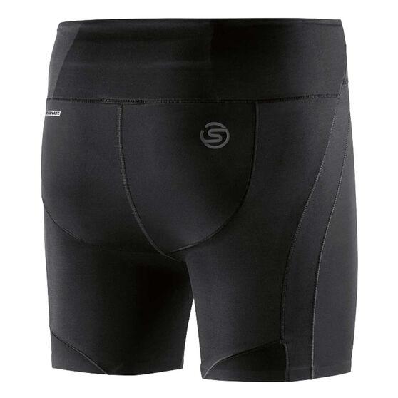 Skins Womens DNAmic Ultimate Shorts, Black, rebel_hi-res
