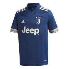 Juventus FC 2020/21 Mens Away Jersey Blue XS, Blue, rebel_hi-res