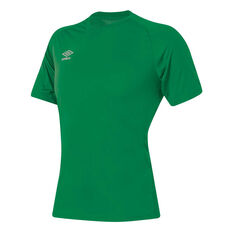 Umbro League Training Knit Jersey Green XS YTH, Green, rebel_hi-res