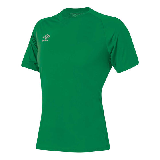 Umbro League Training Knit Jersey, Green, rebel_hi-res