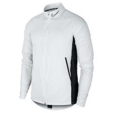 Nike Mens Academy Soccer Jacket White XS, White, rebel_hi-res