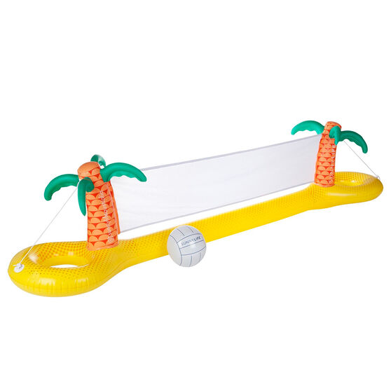 Sunnylife Luxe Inflatable Volleyball Set Tropical, , rebel_hi-res