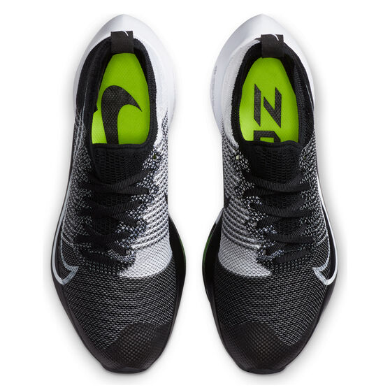 Nike Air Zoom Tempo Next% Kids Running Shoes, Black, rebel_hi-res