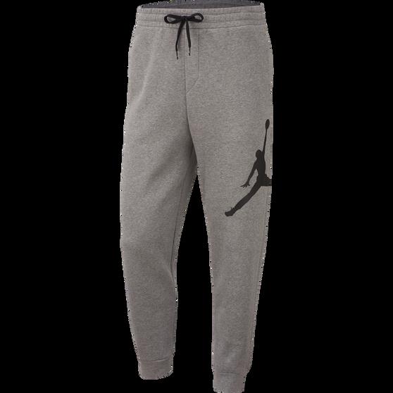 Nike Mens Jordan Jumpman Logo Fleece Pants, Carbon, rebel_hi-res