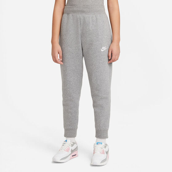 Nike Girls VF NSW Club Fleece Pants, Grey, rebel_hi-res