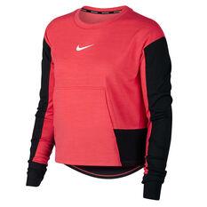 Nike Womens Pacer Graphic Running Top Red / Black XS, Red / Black, rebel_hi-res