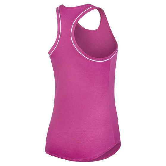 NikeCourt Womens Dri-FIT Tank, Pink / White, rebel_hi-res