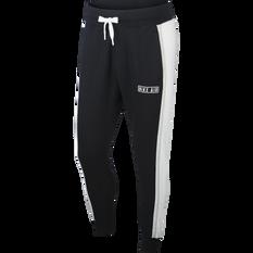Nike Air Mens Fleece Pants Black XS, Black, rebel_hi-res