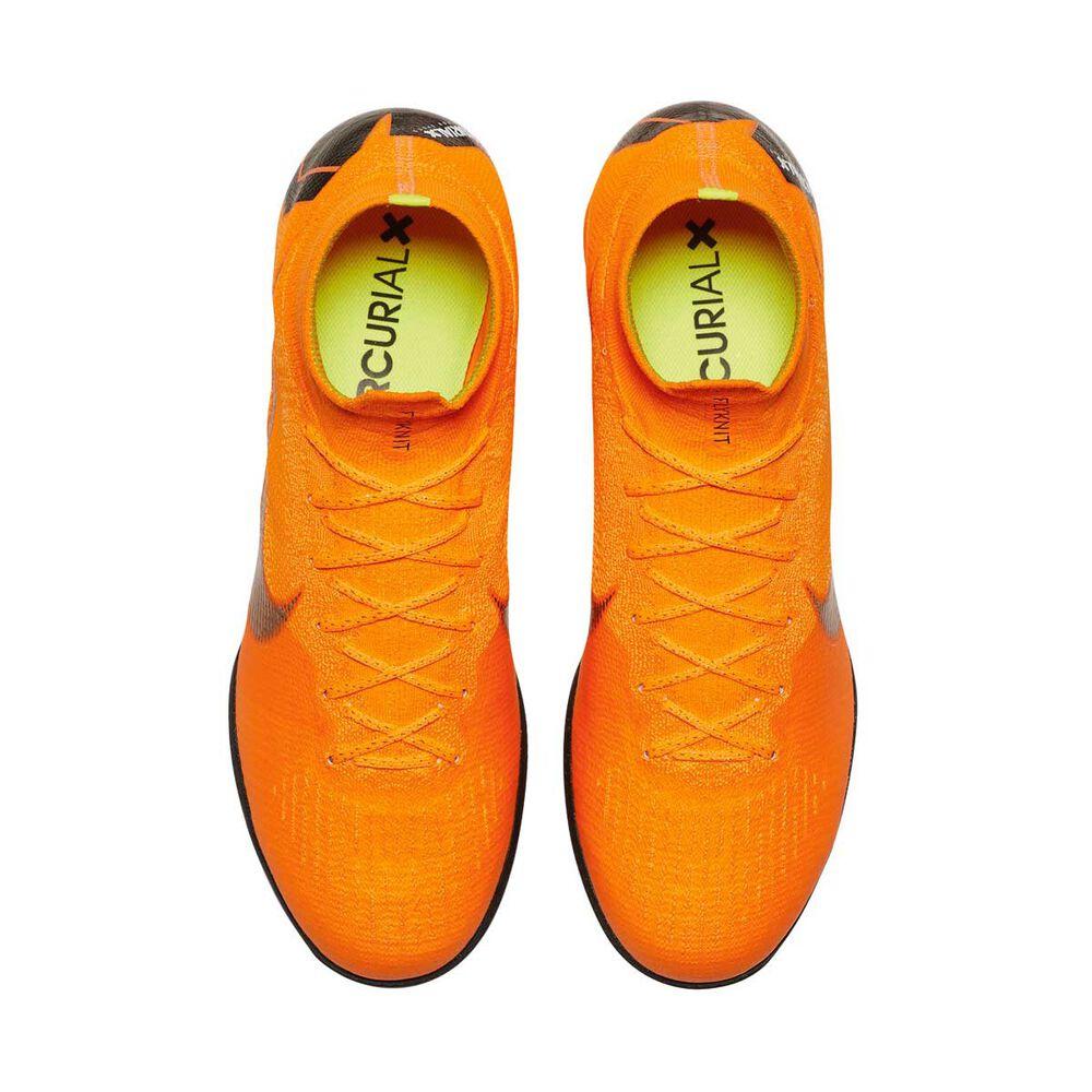 848ac0acc Nike Mercurial Superflyx VI Elite Mens Indoor Soccer Shoes Orange   White  US 8 Adult