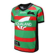 South Sydney Rabbitohs 2020 Kids Home Jersey Green / Red 6, Green / Red, rebel_hi-res