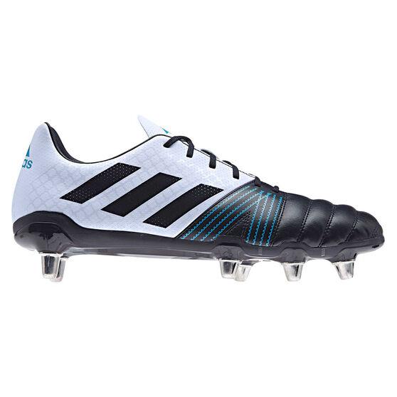 adidas Kakari SG Rugby Boots, Blue / Grey, rebel_hi-res