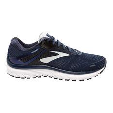 Brooks Adrenaline GTS 18 Mens Running Shoes Navy / Grey US 7, Navy / Grey, rebel_hi-res