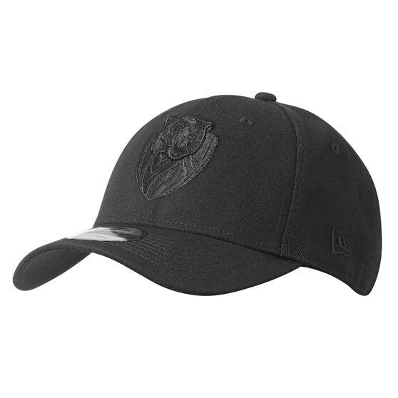 Richmond Tigers New Era Black on Black 9FORTY Cap, , rebel_hi-res