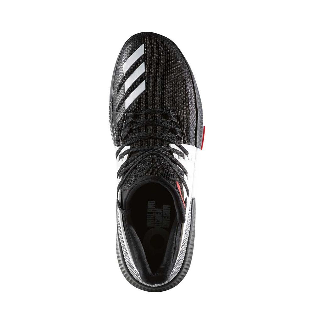 buy online 0bde9 ed77e adidas Dame 3 On Tour Mens Basketball Shoes Black  Red US 11.5, Black